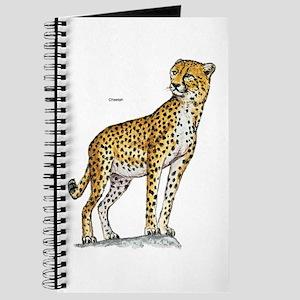 Cheetah Wild Cat Journal