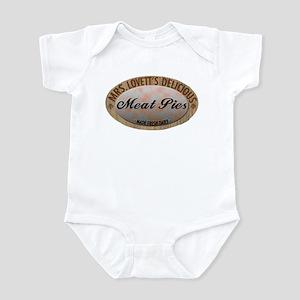 Mrs. Lovett's Famous Meat Pie Infant Bodysuit