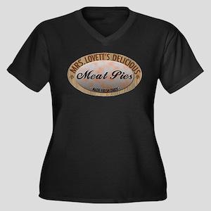 Mrs. Lovett's Famous Meat Pie Women's Plus Size V-