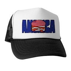 America USA Burger - Trucker Hat