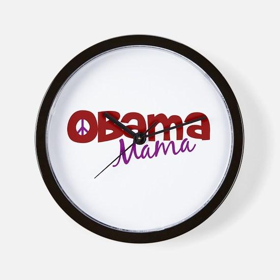 Obama Mama (new) Wall Clock