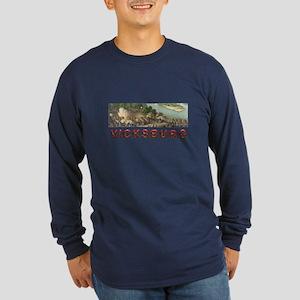 ABH Vicksburg Long Sleeve Dark T-Shirt
