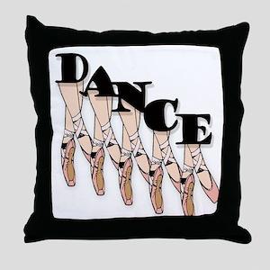 Dance legs Throw Pillow