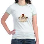 Troll Under the Bridge Jr. Ringer T-Shirt