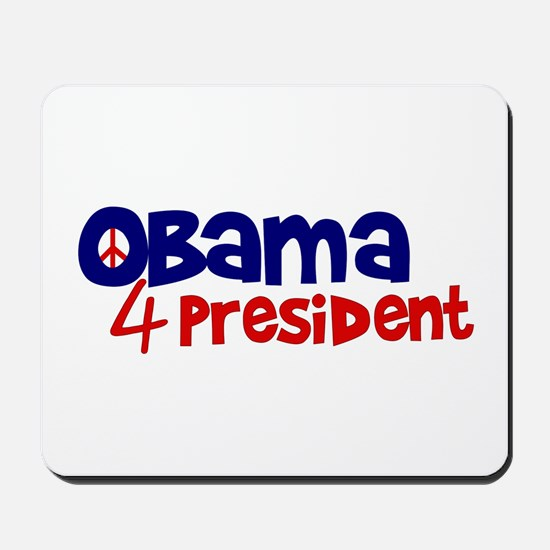 Obama 4 President Mousepad