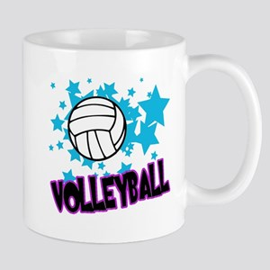 Volleyball Stars Mug