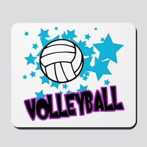 Volleyball Stars Mousepad