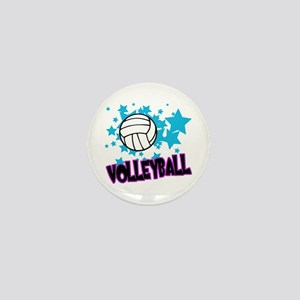 Volleyball Stars Mini Button