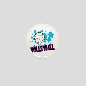Volleyball Stars Mini Button