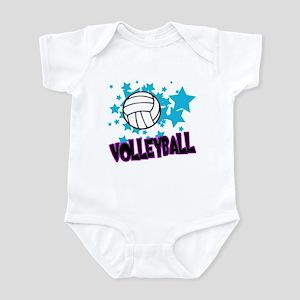 Volleyball Stars Infant Bodysuit
