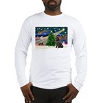 Xmas Magic/Newfie (#2) Long Sleeve T-Shirt