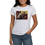Santa's Newfie Women's T-Shirt