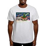 XmasStar/Nova Scotia dog Light T-Shirt