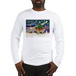 XmasStar/Nova Scotia dog Long Sleeve T-Shirt