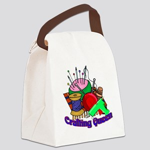 Crafting Queen Canvas Lunch Bag