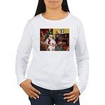 Santa's Old English #6 Women's Long Sleeve T-Shirt