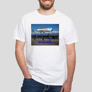 ROCKET MAN White T-Shirt