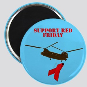 Red Friday magnets for red Friday supporters.