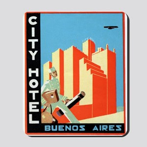 City Hotel (Buenos Aires) Mousepad