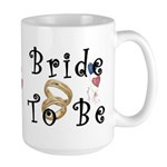 Bride To Be Large Mug