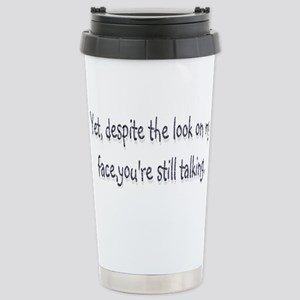 despite Stainless Steel Travel Mug