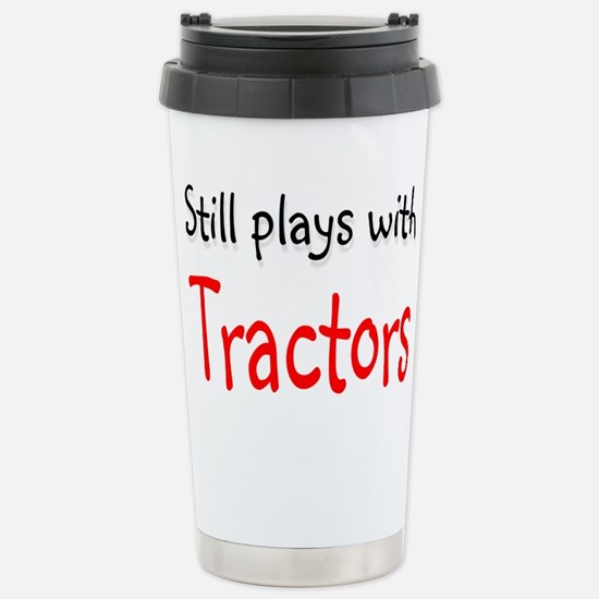 Still plays with Tractors Stainless Steel Travel M