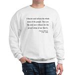 Thomas Jefferson 22 Sweatshirt
