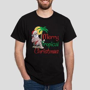 MERRY TROPICAL CHRISTMAS! Dark T-Shirt