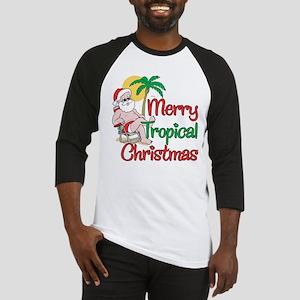 MERRY TROPICAL CHRISTMAS! Baseball Jersey