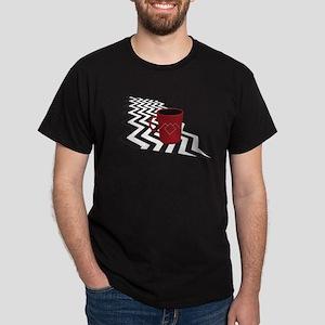 Black Lodge Coffee T-Shirt