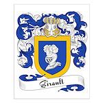 Girault Family Crest Small Poster