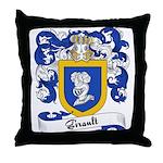 Girault Family Crest Throw Pillow