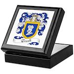 Girault Family Crest Keepsake Box