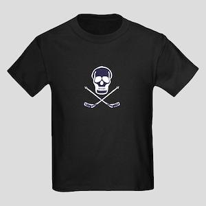Hockey Skull Kids Dark T-Shirt