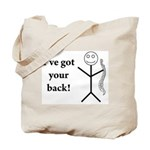 I back Tote Bag