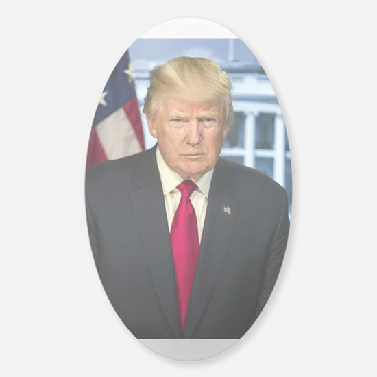 Official Presidential Portrait Sticker (Oval)
