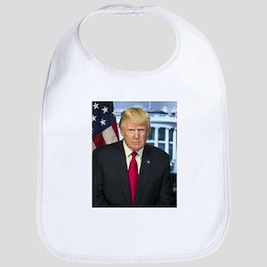 Official Presidential Portrait Cotton Baby Bib