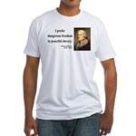 Thomas Jefferson 15 Fitted T-Shirt