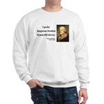 Thomas Jefferson 15 Sweatshirt