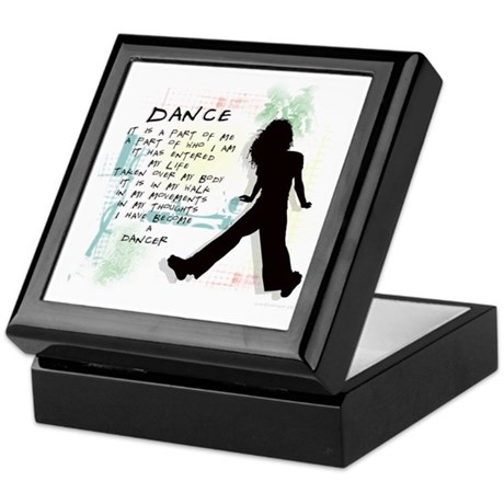 Become A Dancer Keepsake Box