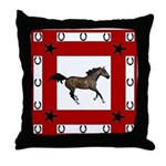 Majestic Horse Throw Pillow