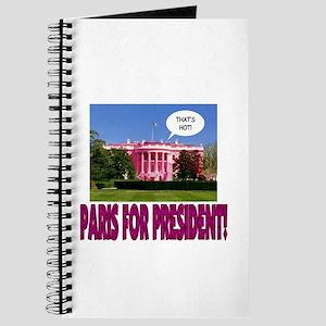 Paris for President Journal