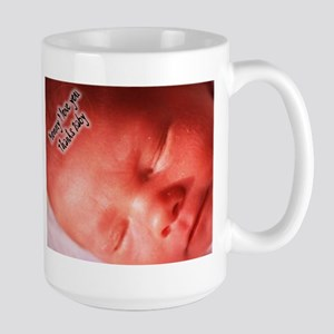 Large Mug Baby in Womb