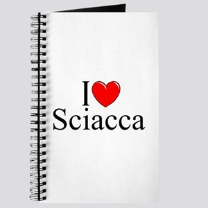 """I Love (Heart) Sciacca"" Journal"