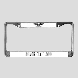 """Wingman"" License Plate Frame"