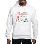 Unsocialized Hooded Sweatshirt