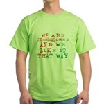 Unsocialized Green T-Shirt