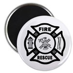 Fire Rescue Magnet