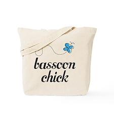 Cute Bassoon Chick Tote Bag