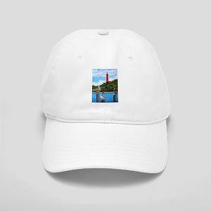 Jupiter Inlet Lighthouse Pelicans Cap